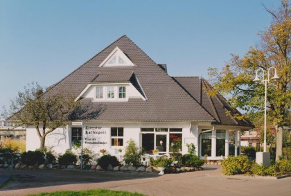 Außenansicht Kaffeepott, Familienbetrieb Pension Zingst, Kaffeepott Restaurant