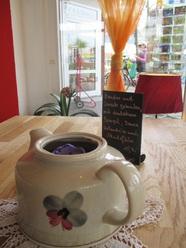 Kaffeekanne Umfunktioniert, Leuchter, Dekoration Restaurant