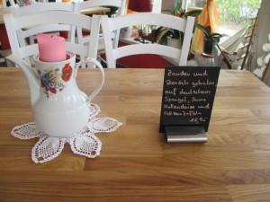 Kaffeekanne, Dekoration Restaurant, Ferien Ostsee Zingst