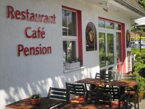 Restaurant Terrasse, Zingst Sommerferien, Pension Restaurant Kaffeepott